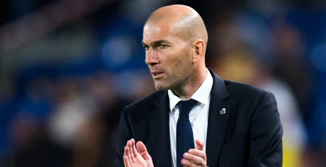 Zidane, aplaude, Real Madrid