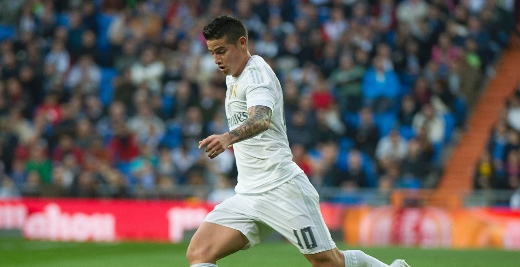 James Rodríguez, partido, Real Madrid
