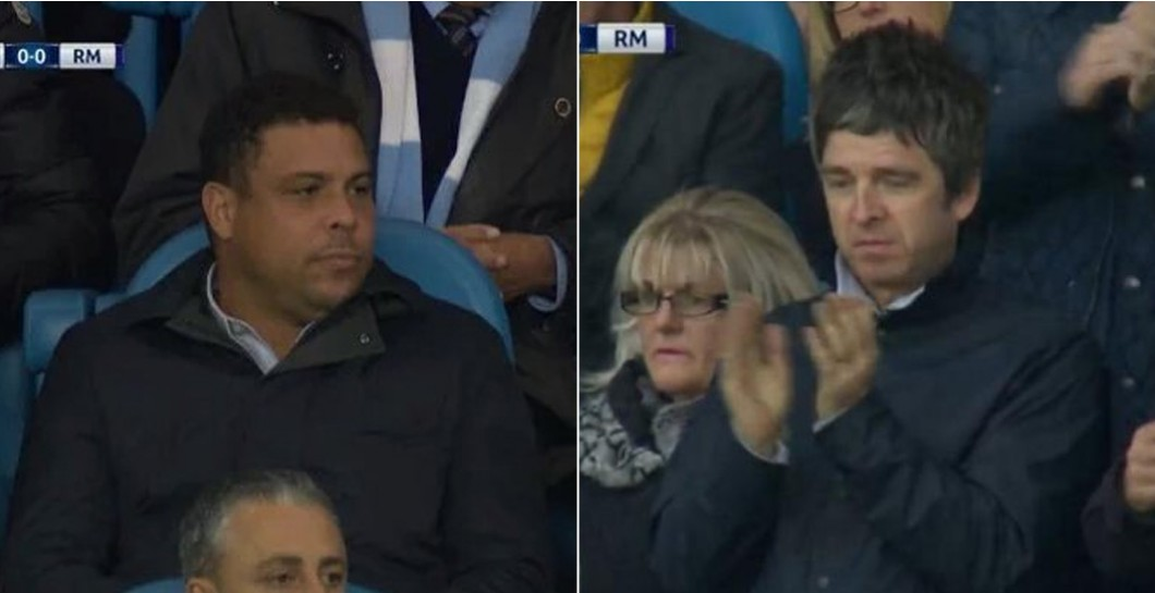 Ronaldo Nazario, Noel Gallagher, Etihad Stadium