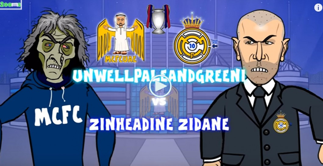 La divertida parodia del Manchester City-Real Madrid