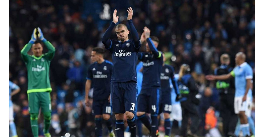 Pepe, Manchester City, Real Madrid