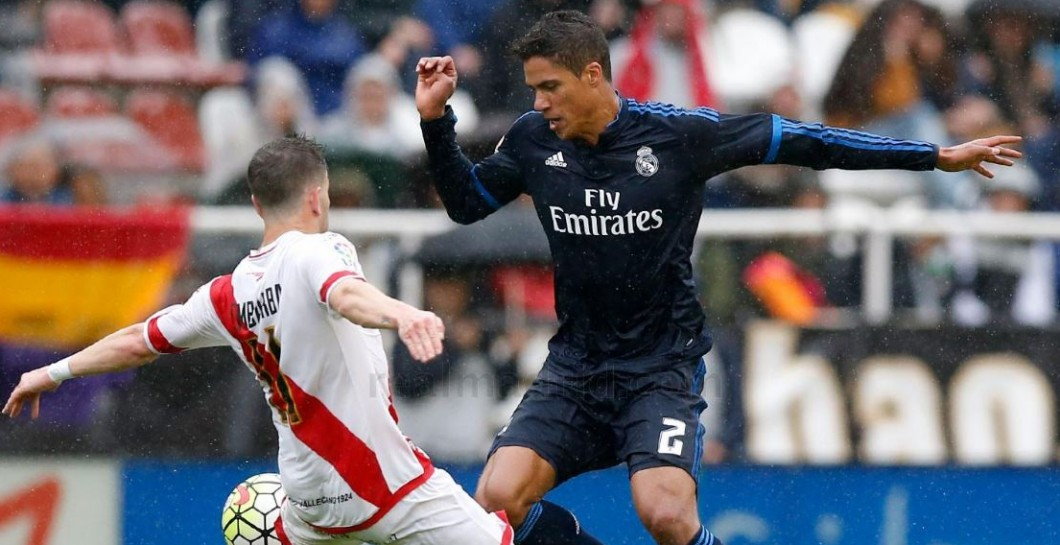 Varane, Rayo, Real Madrid