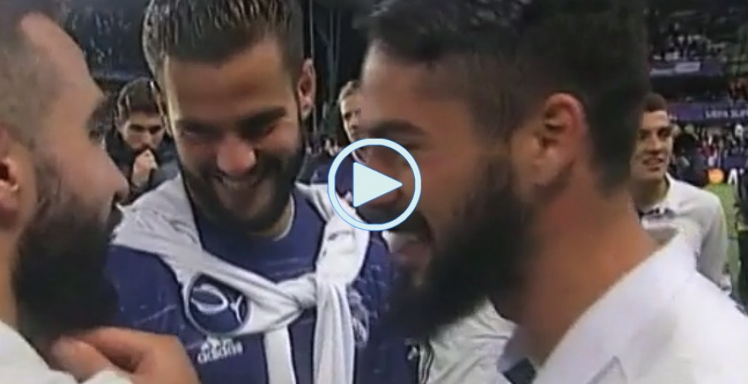 Isco, Carvajal, Nacho, video