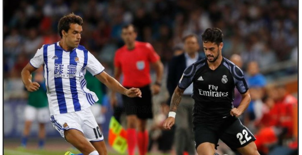 Isco, Real Sociedad, Real Madrid