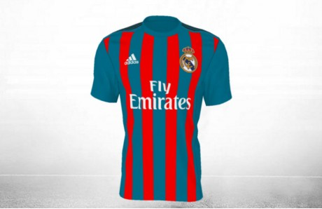 Camiseta Real Madrid colores Barcelona