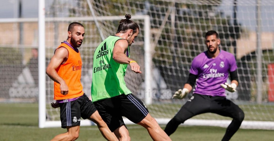 Bale, entrenamiento, Real Madrid