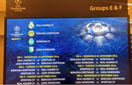 Calendario Real Madrid