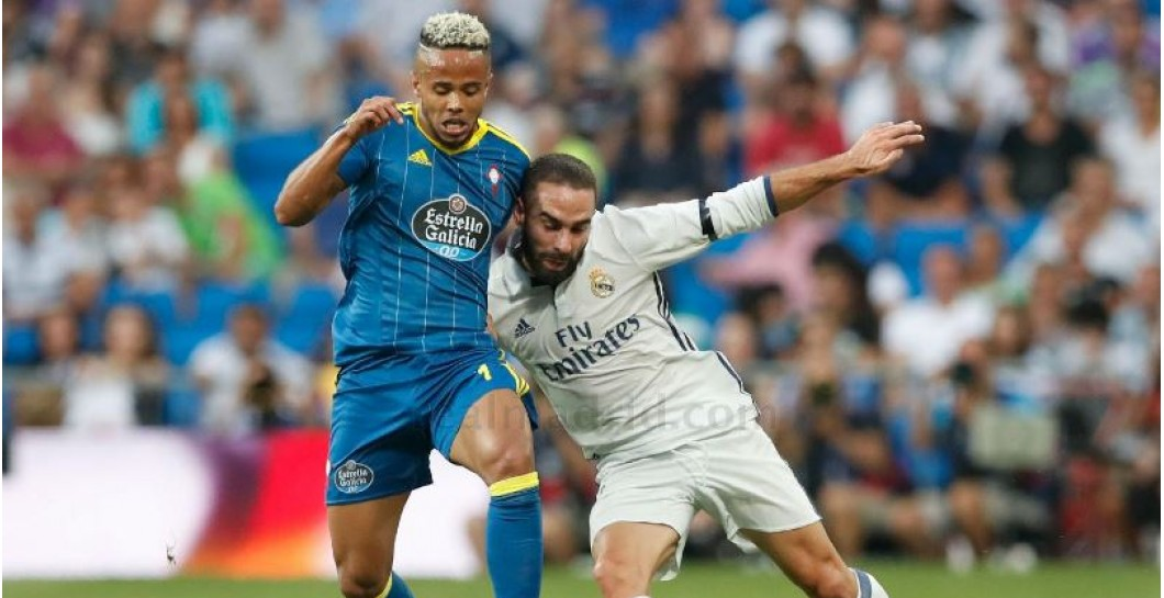 Carvajal, Real Madrid, Celta