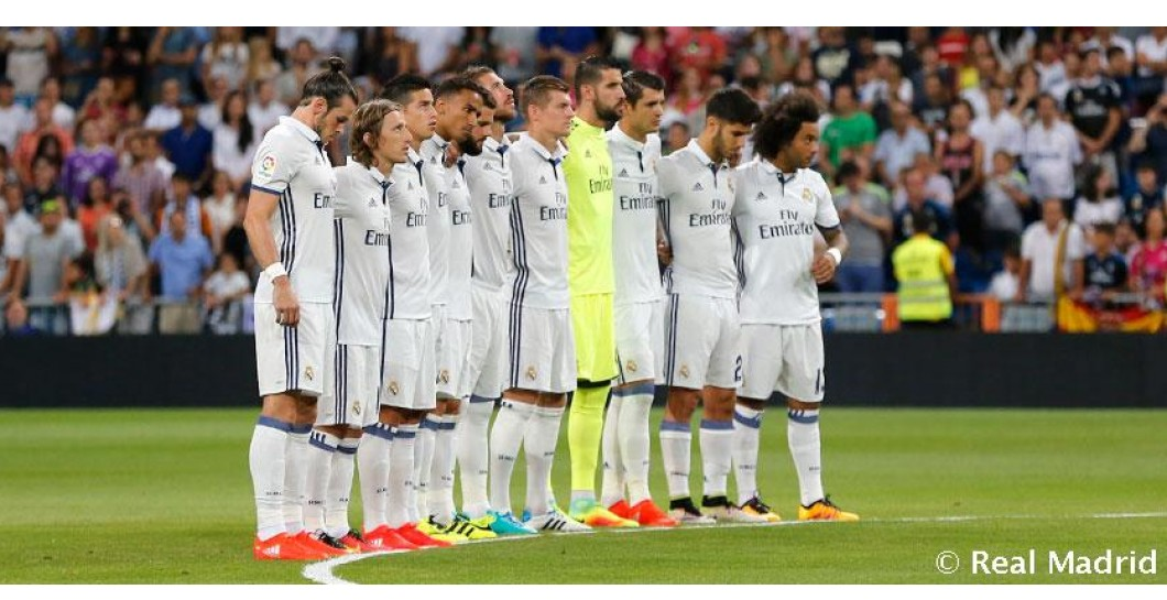 Minuto de silencio, Real Madrid