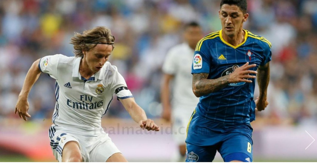 Modric, Real Madrid, Celta