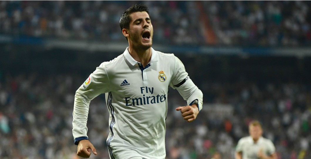 Morata, gol., Real Madrid, Celta