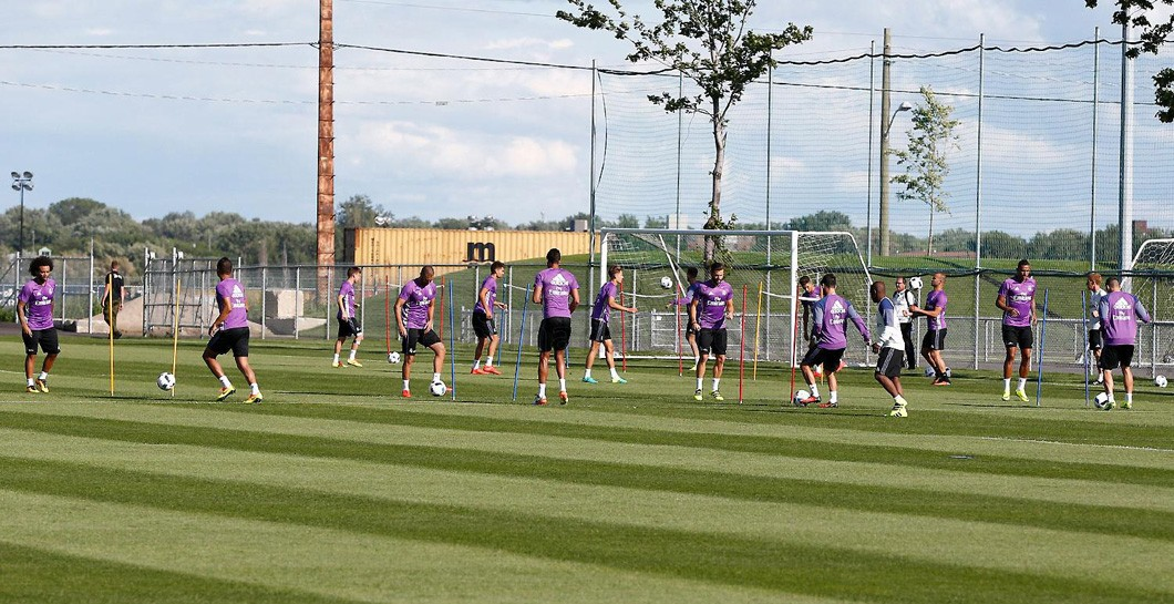 Real Madrid, entrenamiento