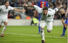 Sergio Ramos, gol, Camp Nou, Barcelona, Real Madrid