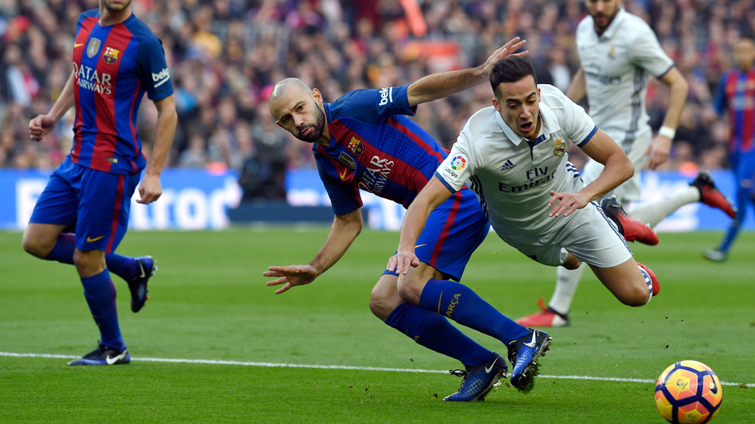 Barcelona, Real Madrid, Clasico. penalti