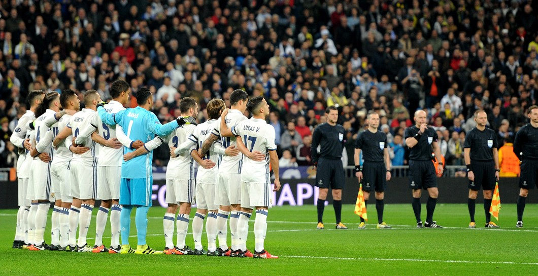 Real Madrid, minuto de silencio