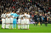 El Real Madrid guarda un minuto de silencio