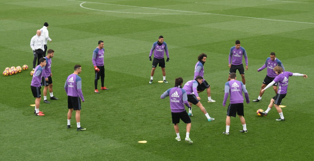 Entreno Real Madrid