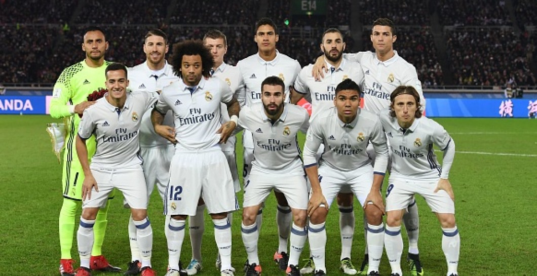 La plantilla del Real Madrid