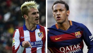 Neymar vs Griezmann