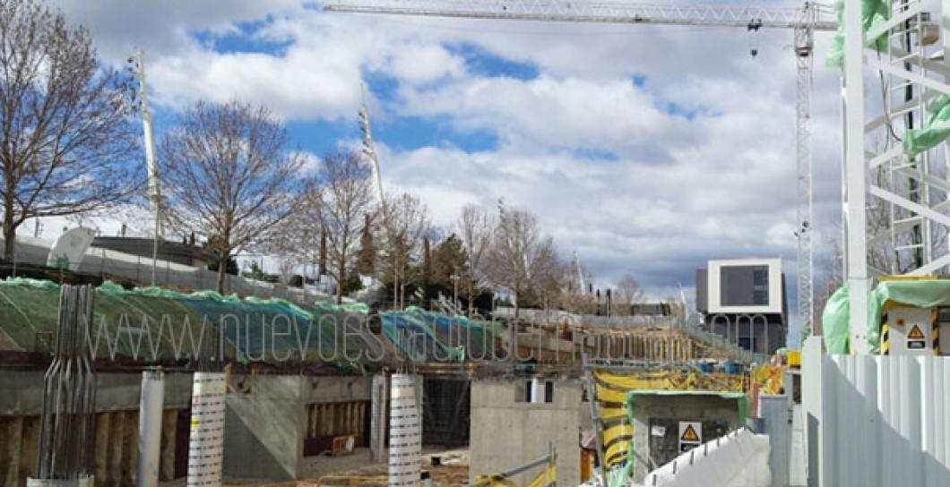 Las obras de las nuevas oficinas del madrid en valdebebas - Oficinas real madrid ...