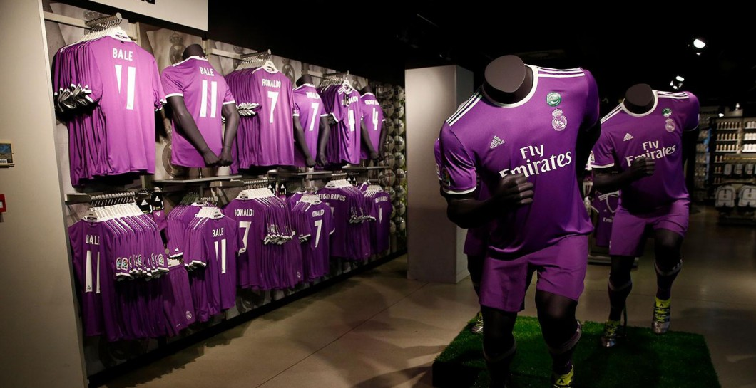 Camiseta, Real Madrid, morada