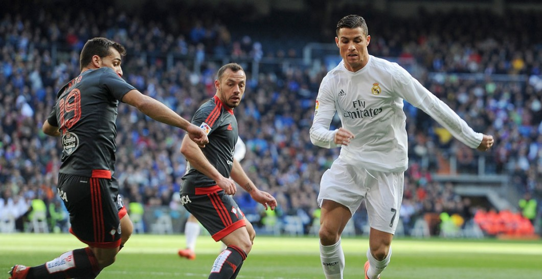 Cristiano, Real Madrid, Celta, 2016