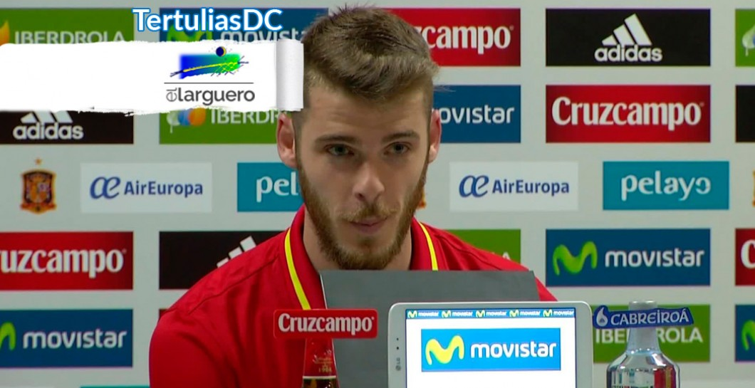 David De Gea, El Larguero