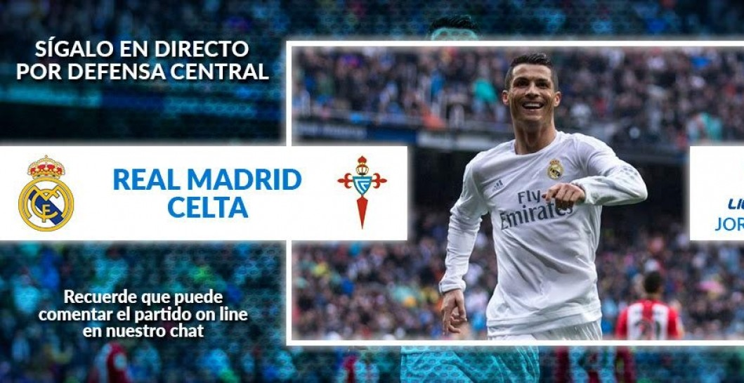 Minuto a minuto Real Madrid - Celta