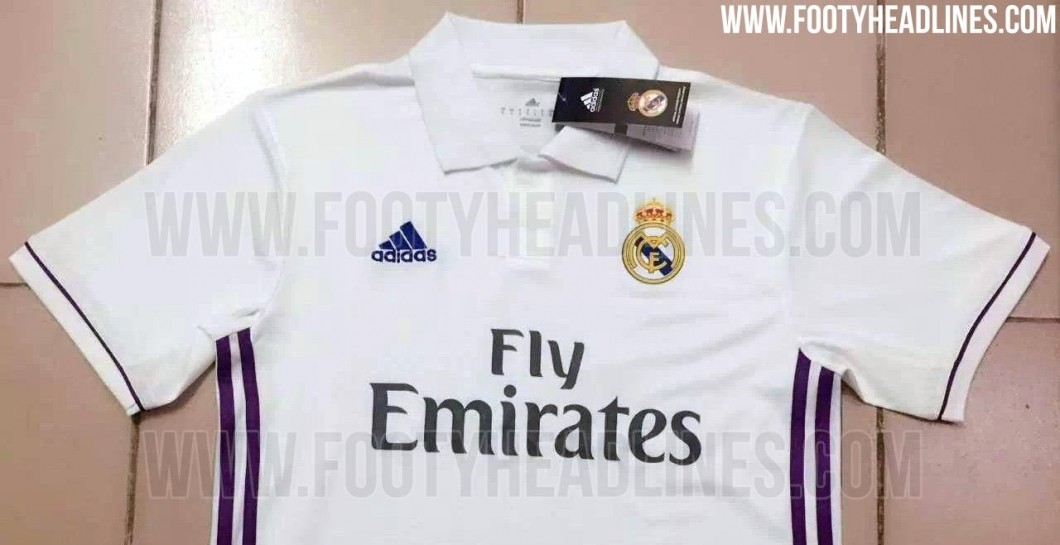 Camiseta, Real Madrid, temporada, 2016-2017