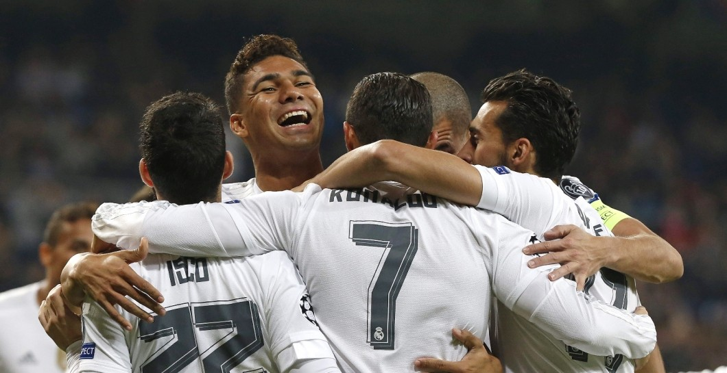 Casemiro, Champions, Real Madrid