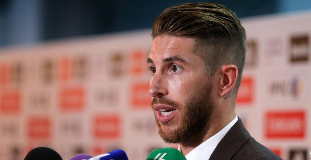 Sergio Ramos, zona mixta, Real Madrid