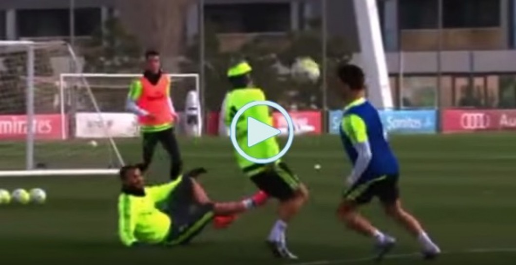 Isco, sombrero, Modric, video