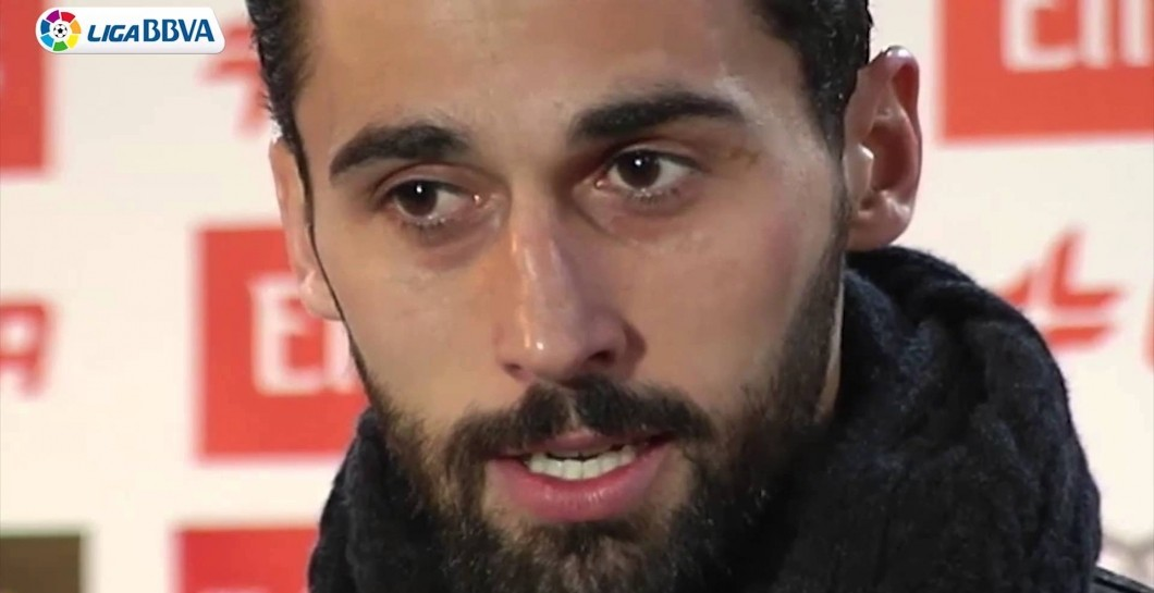 Arbeloa, zona mixta, Real Madrid
