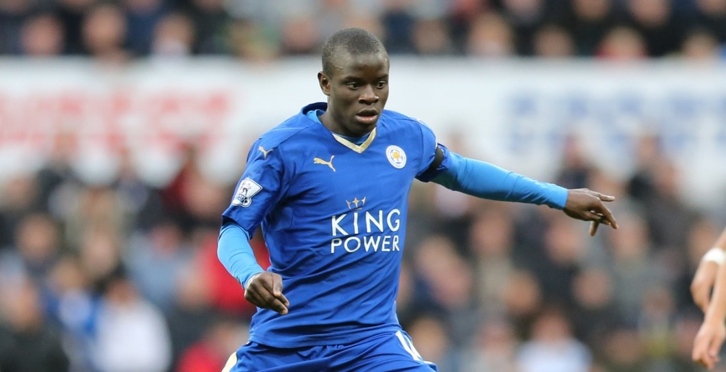 Kanté, Leicester City, Premier League