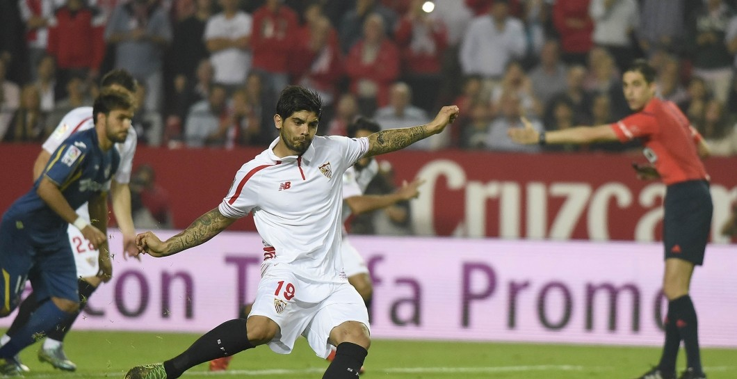 Ever Banega, penalti, Sevilla
