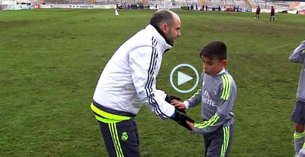 video, benjamines, Real Madrid