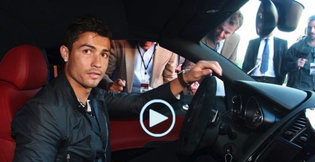 Cristiano, video, coches