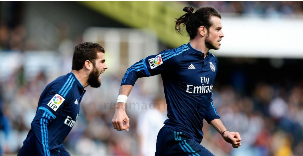 Bale, Real Sociedad, Real Madrid