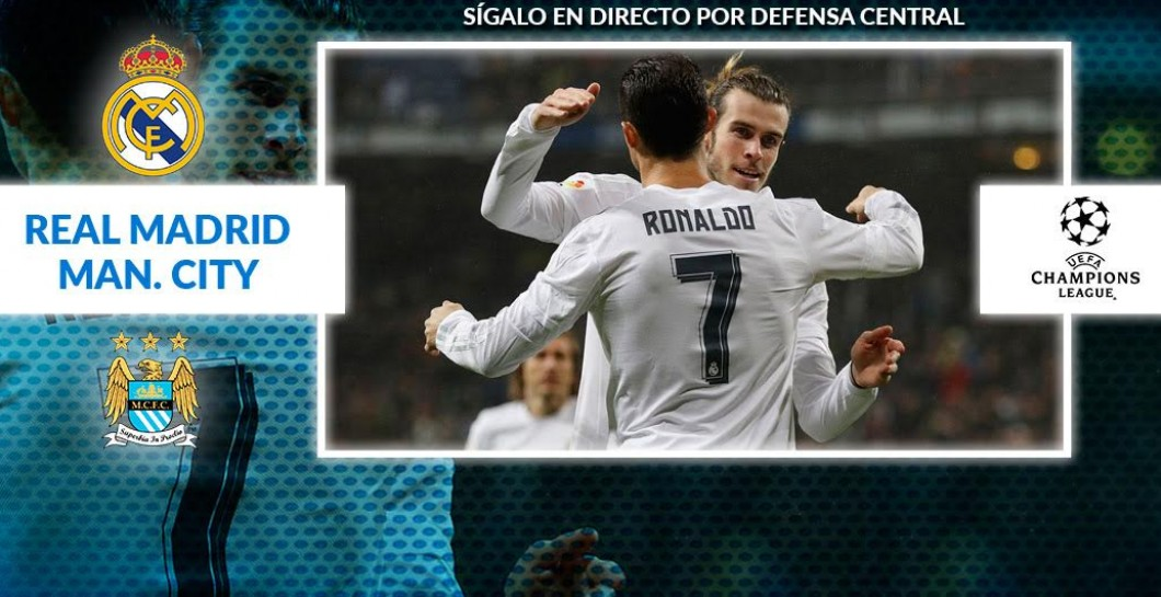 Directo Real Madrid - Manchester City