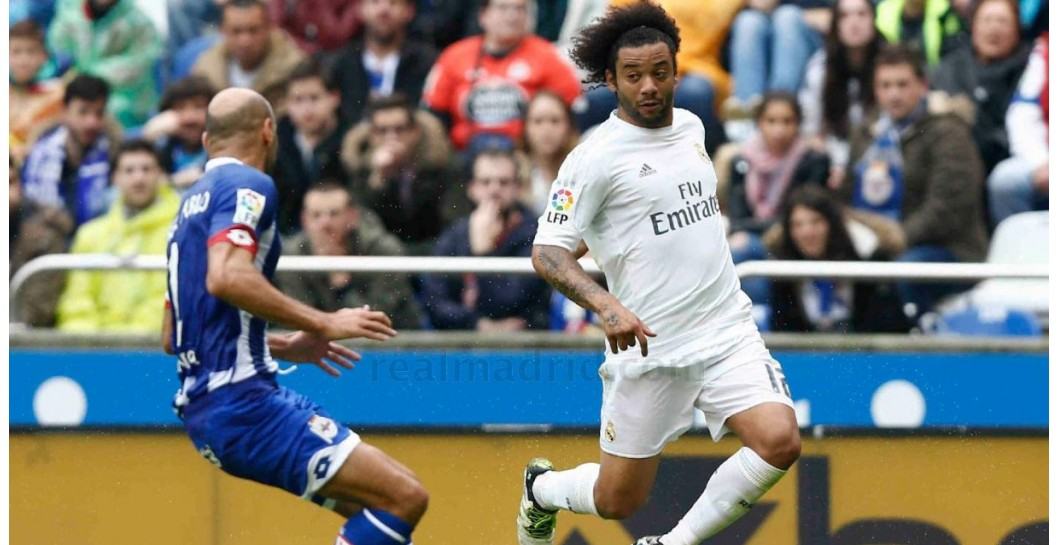 Marcelo, Deportivo, Real Madrid