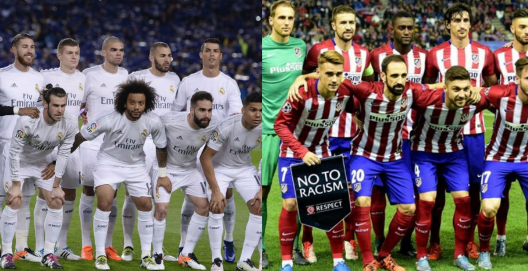 Real Madrid y Atlético de Madrid