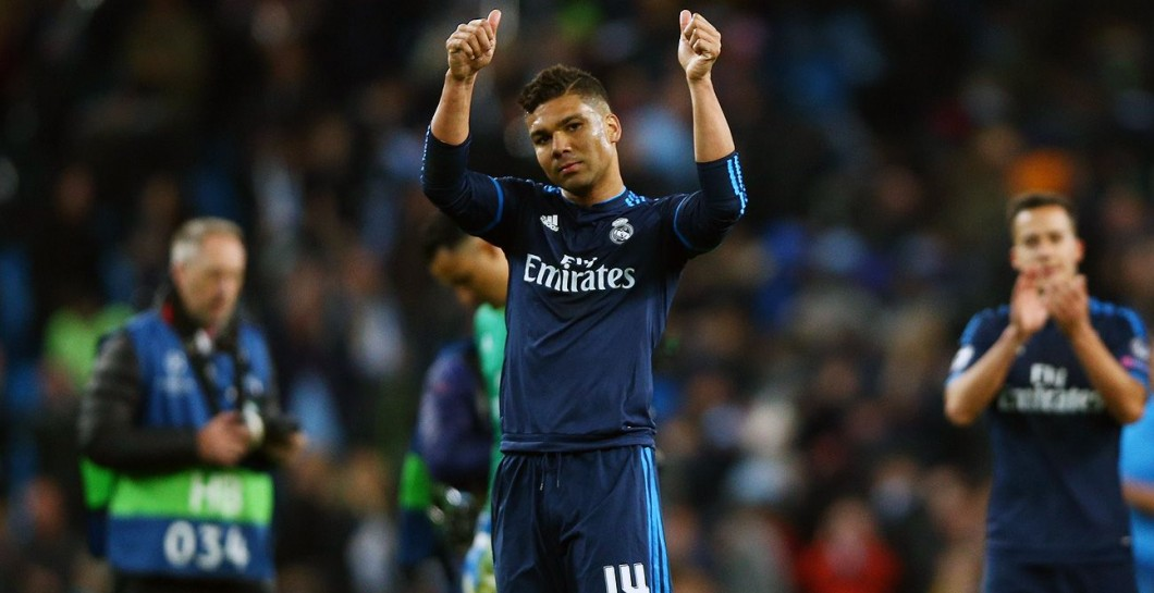 Casemiro, Real Madrid, Champions