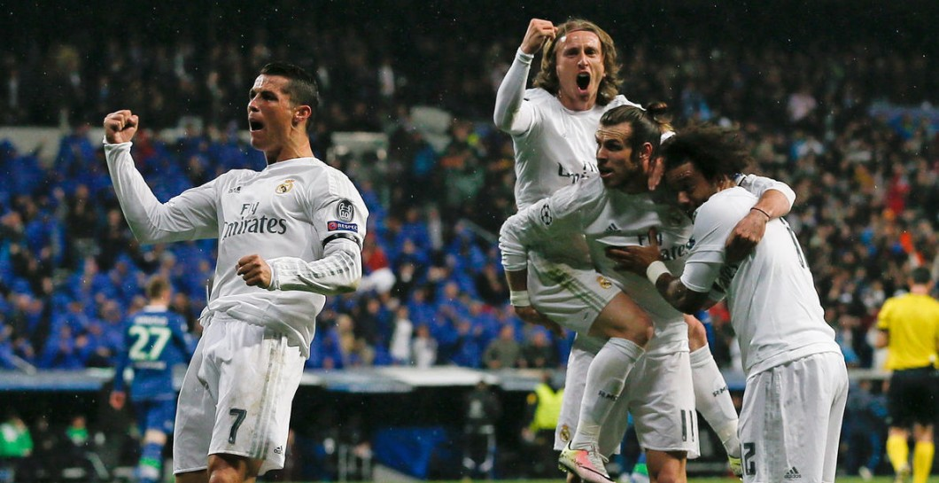 Real Madrid, gol, Wolfsburgo