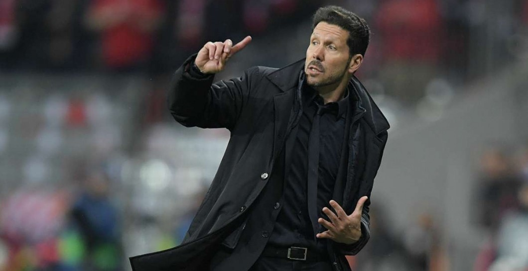 Simeone en el Allianz Arena