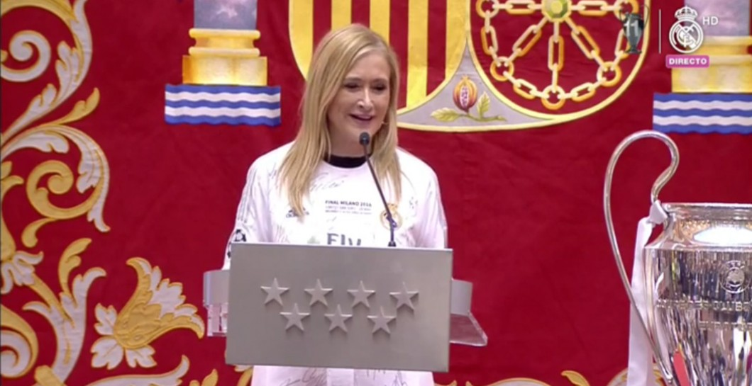 Cristina Cifuentes, Real Madrid