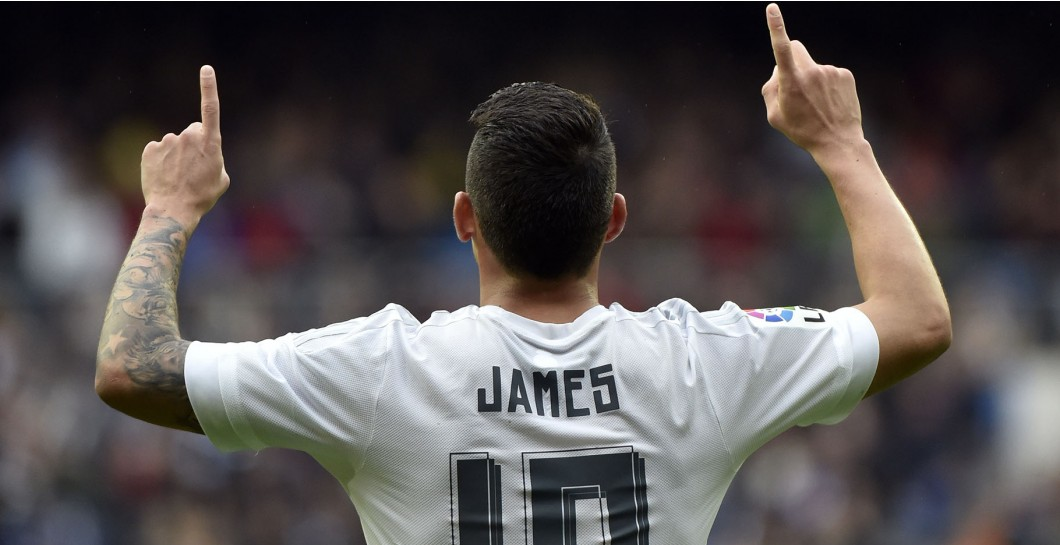 James Rodríguez, gol, Real Madrid