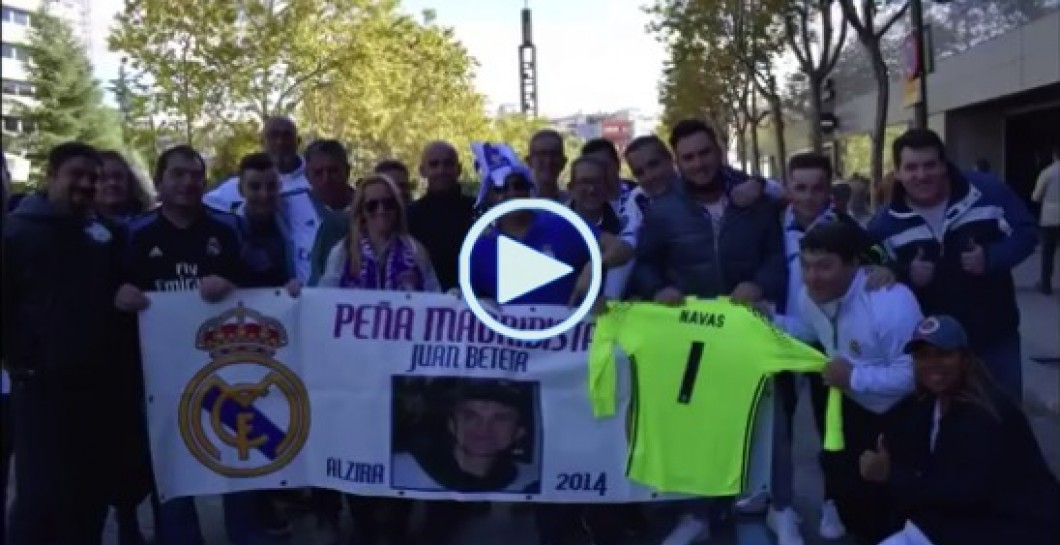 Peña Juan Beteta, video, Bernabéu