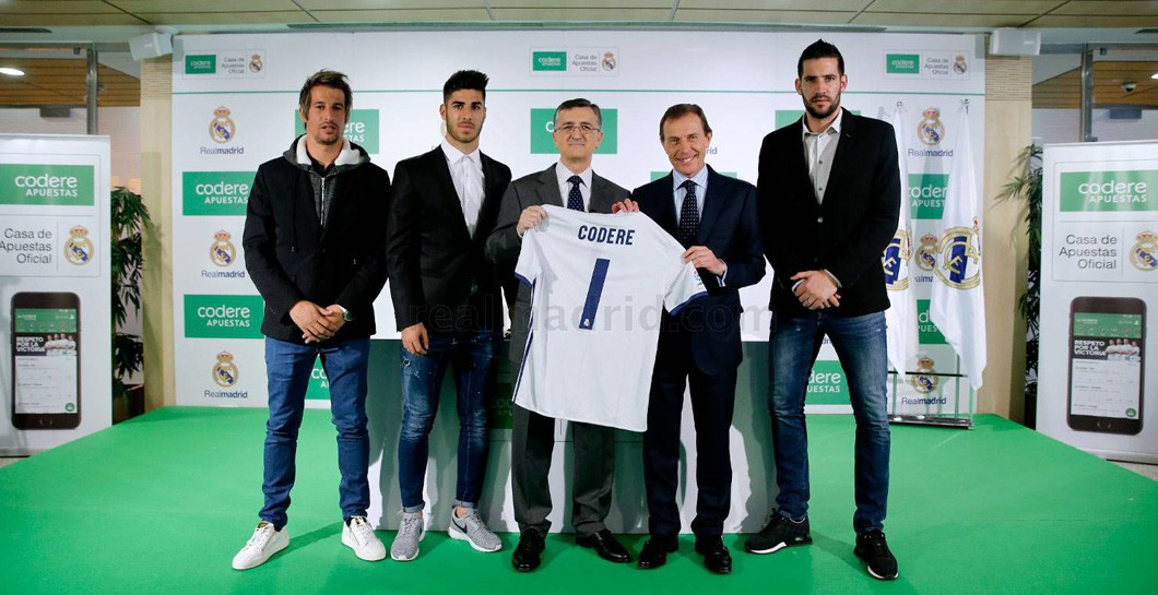 Real Madrid, Codere Apuestas