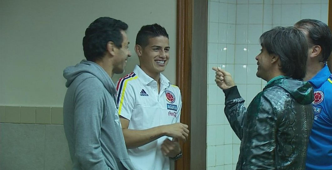 James charla en su estancia con Colombia