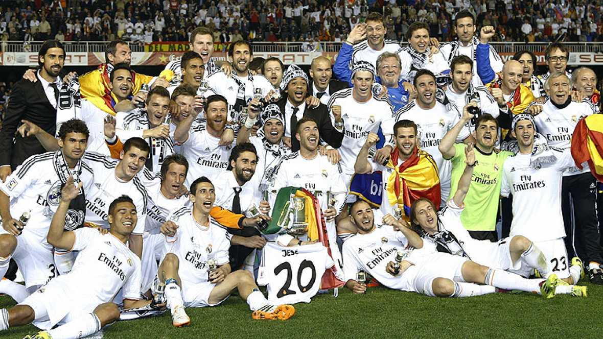 Copa del Rey, Real Madrid, temporada 13-14